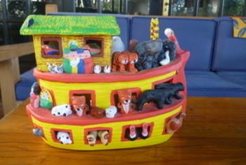Picture Talk: Animals = Noah's Ark