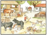 Picture Talk : At the Farm (Indian Context)