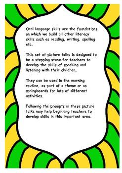 Picture Talks for oral language development