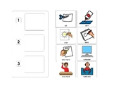 Picture Task Schedule (3 Step)
