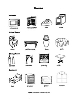 Picture This: Beginning ESL Vocabulary Bundles_Volume One
