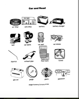 Picture This: Beginning ESL Vocabulary Bundles_Volume Six