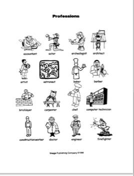 Picture This: Beginning ESL Vocabulary Bundles_Volume Three
