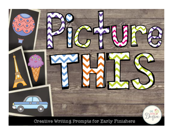 Picture This: Creative Writing Prompts for Early Finishers
