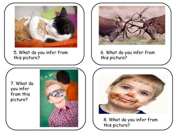 Picture That! Inference Task Cards