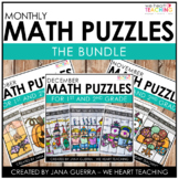 Picture This! Math Puzzles BUNDLE