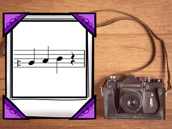 Picture This Melodies {A Bundled Set of Games for Melodic Practice}