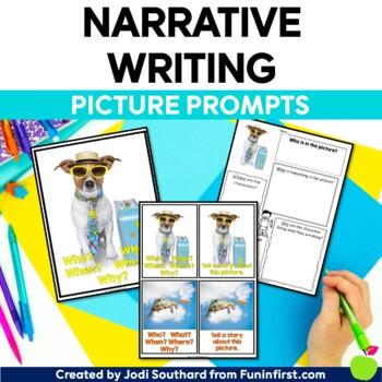 Picture Perfect Narrative Writing {Photograph Prompts & Graphic Organizers}