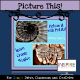 Poetry Project, Poetry Writing, Poetry Activities for ELA: Google Drive Edition
