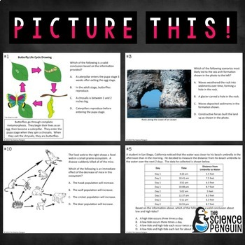 Picture This! {Processing Photos and Diagrams for Science Test Prep}