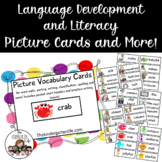Picture Vocabulary Cards & More: Word Work, Common Core