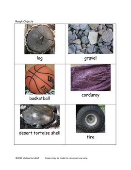 Picture Vocabulary Cards of Categories - Some Opposites