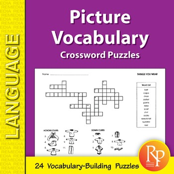 Picture Vocabulary: Crossword Puzzles
