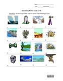 Picture Vocabulary Review: Units 17-20