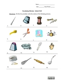 Picture Vocabulary Review: Units 21-24