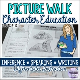 Picture Walk/Prompts: Character Education Activity Pack fo