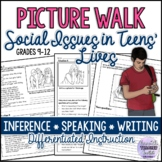 Picture Walk/Prompts: Social Issues in Teens' Lives Speaki