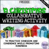 A Free Christmas Collaborative Writing Activity