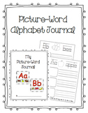 Picture Word Alphabet Journal
