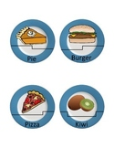 Picture Word Association: Food Match