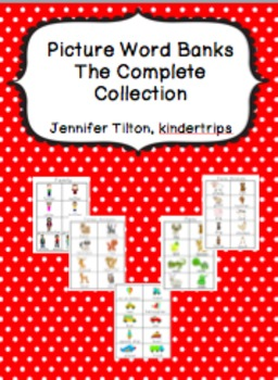 Picture Word Banks Bundle