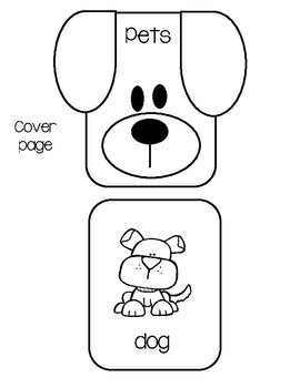 Picture Word Book - Pets