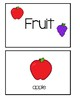 Preschool Picture Word Cards - Freebie #1