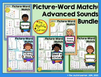 Picture-Word Match: Advanced Sounds Bundle