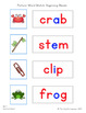 Picture-Word Match: Beginning & Ending Blends (CCVC, CVCC)
