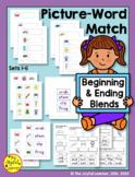 Picture-Word Match: Beginning & Ending Blends (CCVC, CVCC)
