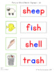 Picture-Word Match: Beginning & Ending Digraphs