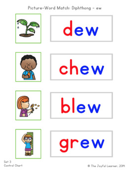 Picture-Word Match: Diphthongs
