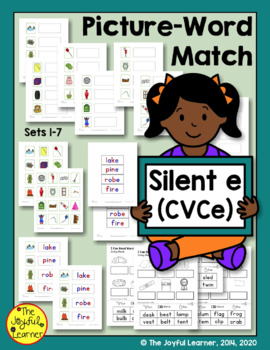 "Picture-Word Match: Silent ""e"" (CVCe)"