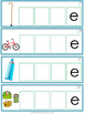 Picture-Word Match Spell Silent e Word Gr. 1