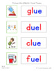 Picture-Word Match: Vowel Teams