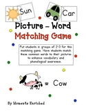 Picture - Word Matching Game