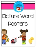 Picture Word Posters