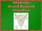 Picture Word Search Creator -- Bull