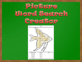 Picture Word Search Creator - Fish