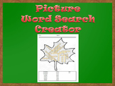 Picture Word Search Creator -- Trees
