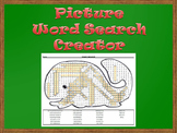 Picture Word Search Creator -- Whale