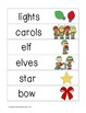 Picture Word Strips {Christmas}