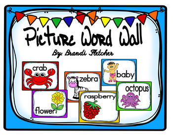 Picture Word Wall