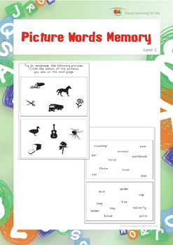 Picture Words Memory