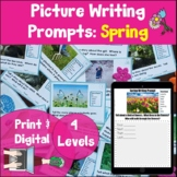 Writing Prompt Picture Task Cards Spring