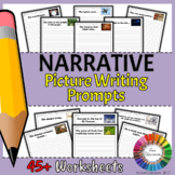 Picture Writing Prompt Worksheets for Narratives