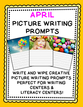 Writing Prompts {Picture Writing Prompts for April}