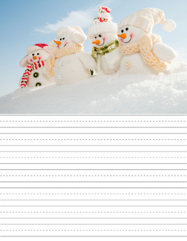 Picture Writing Prompts {December}