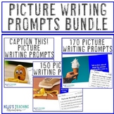Picture Writing Prompts BUNDLE: Distance Learning or eLear