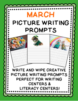Picture Writing Prompts {March}